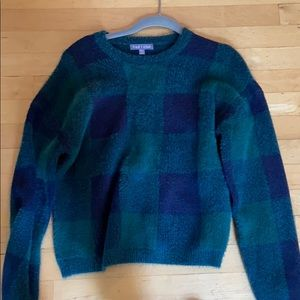 Fred and Sibel Plaid Sweater